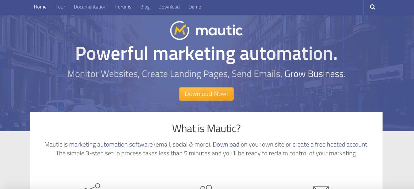 Mautic -ダウンロード